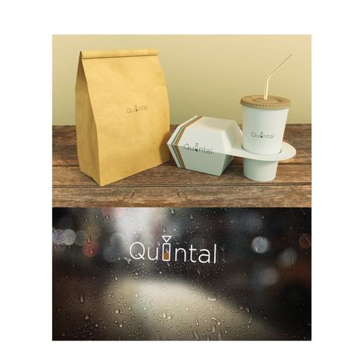 logo concept for a cafe