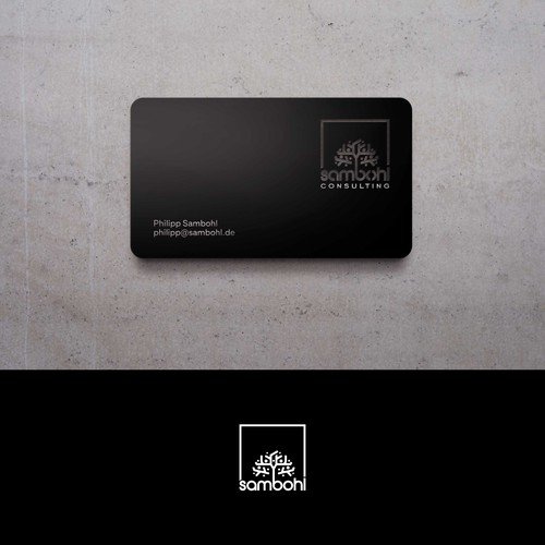 complex logo for consulting firm