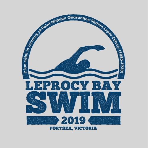 T-shirt for commemorative swim.