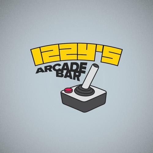 Logo for an Arcade Bar