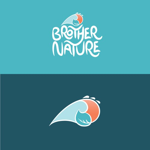 Logo concept for health supplement, with the hawaiian feeling