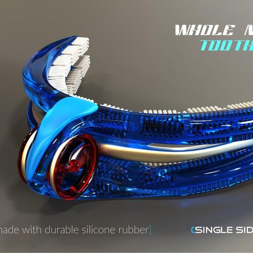 Concept Art - Futuristic Toothbrush