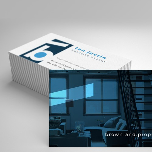 Business Card Mock up with new branding!