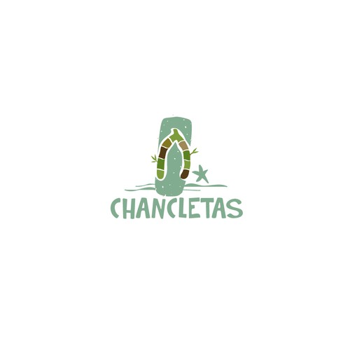 Logo for chancletas