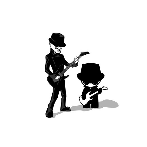 Create a mascot that audiences will love for indie rock singer-songwriter Vii-Pii