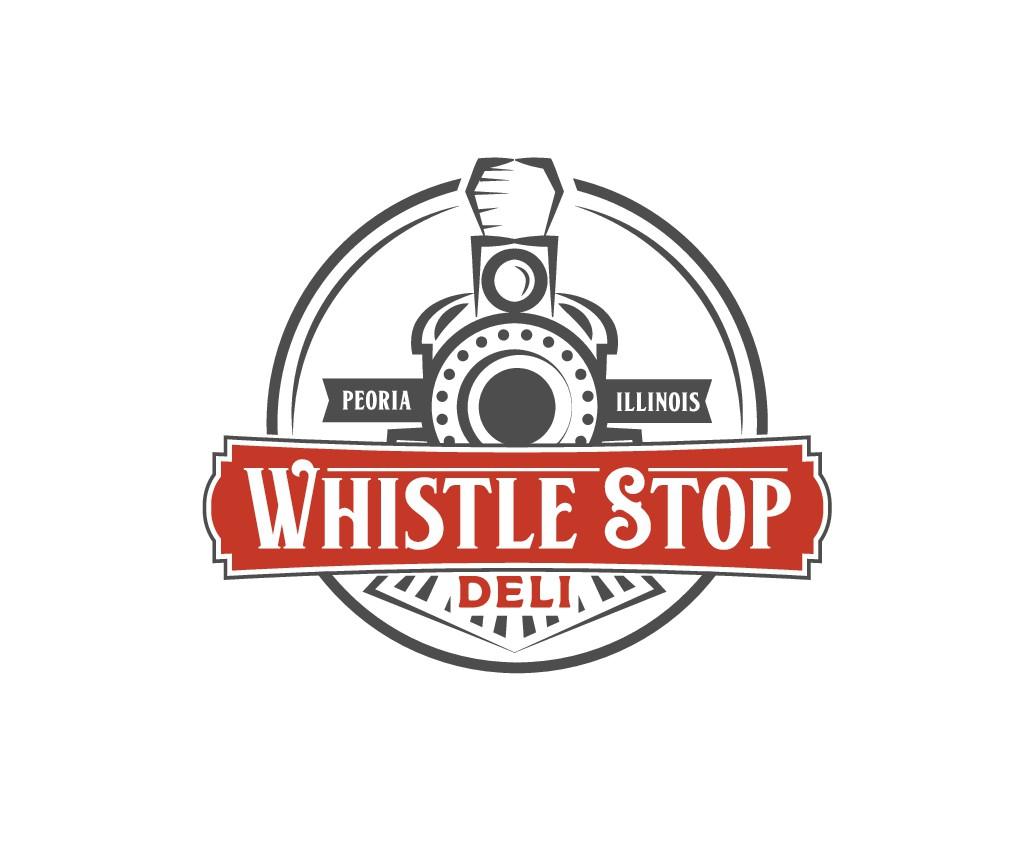 """Deli with railroad theme logo contest: """"Whistle Stop Deli"""""""