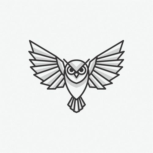 owl logo designs for Modern Logo for a freelance Software Developer