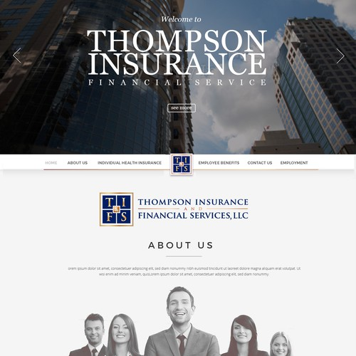 Thompson Insurance Website
