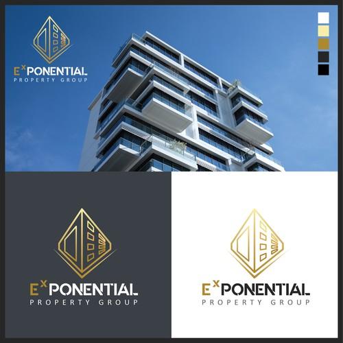 Logo concept for real estate development company.