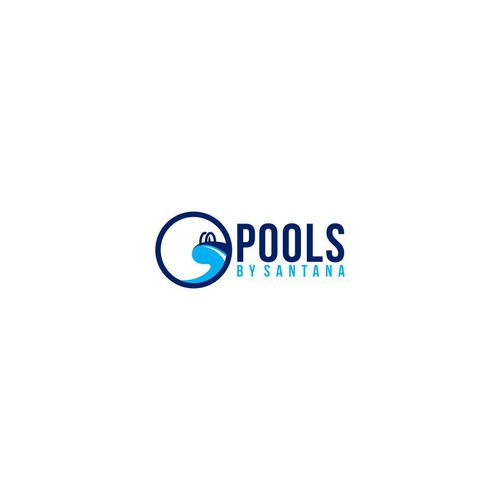 pools logo design