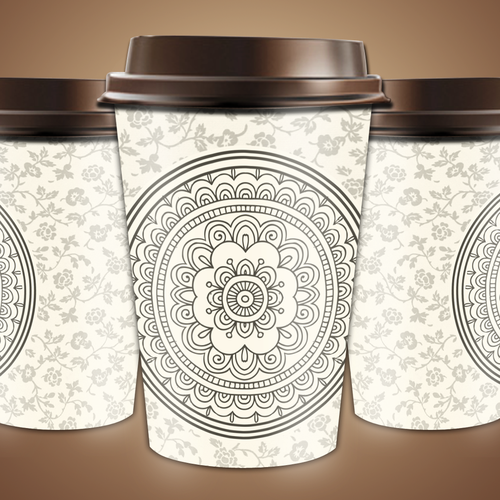 Artwork Design for Paper Cups