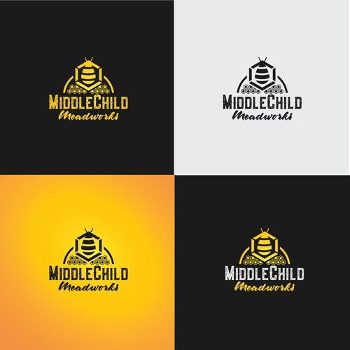 Contemporary Logo Design for Honey Mead
