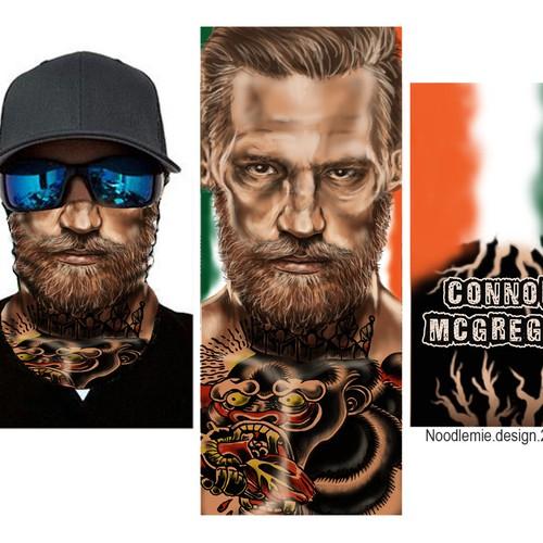 Connor McGreggor bandana face scarf