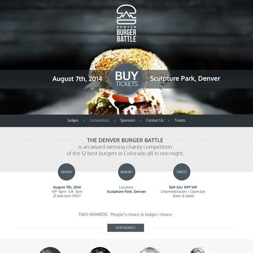 Website Food Event