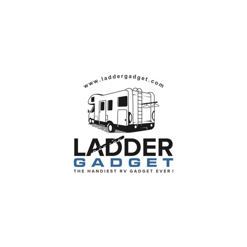 Design a logo for a brand new accessory for the families in the RV market