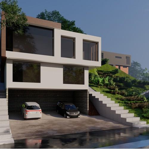 Facades Designs for a contemporary home
