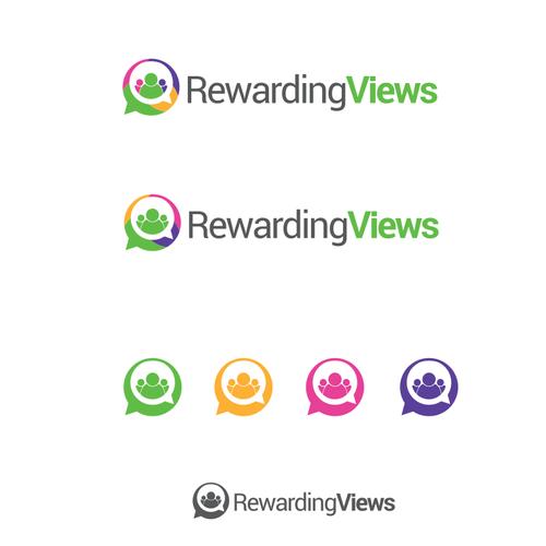 Logo design for RewardingViews