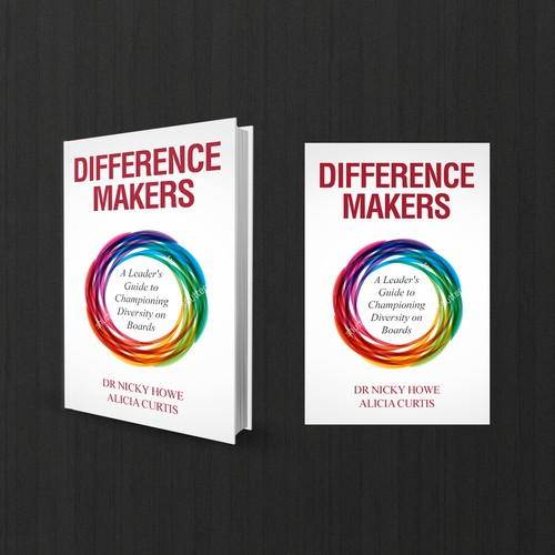 Winner - Difference Makers book cover design
