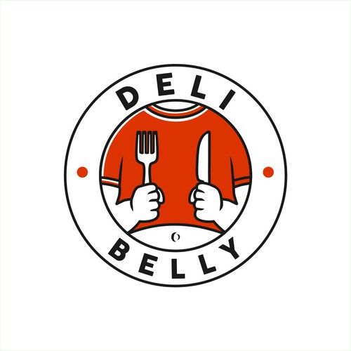 logo for Deli Belly