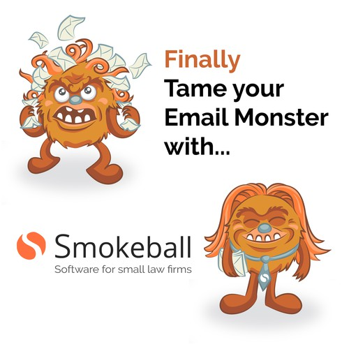 Email Monster (Wild then Tamed)