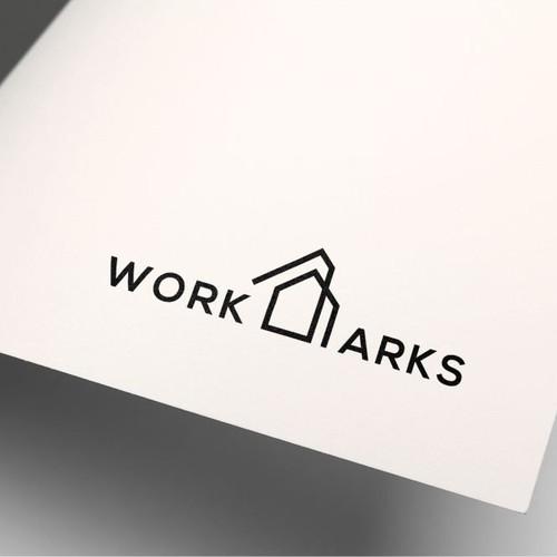 Construction logo work arks