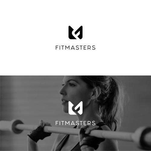 A logo for a gym