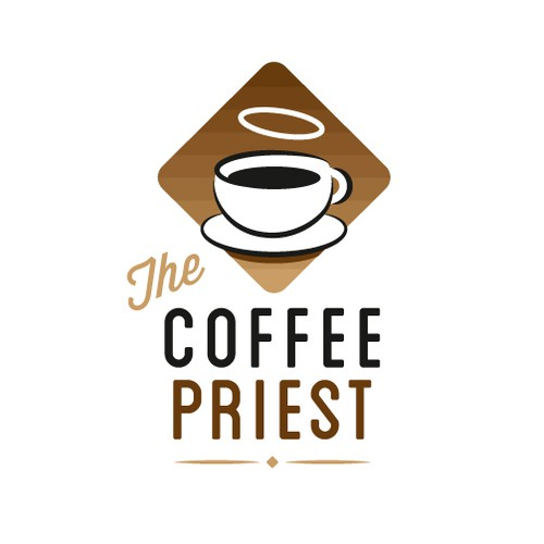 Help The Coffee Priest with a new logo