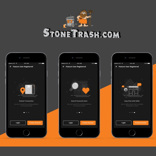 Stone Trash Mobile Apps