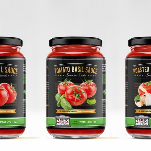 Label Italian Tomato Sauce