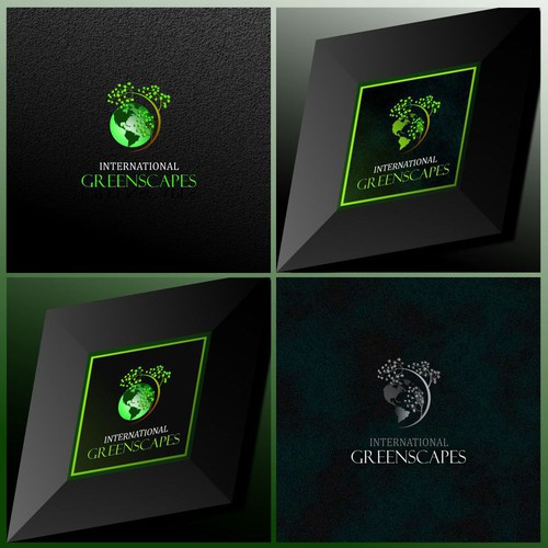Logo concept for International Greenscapes
