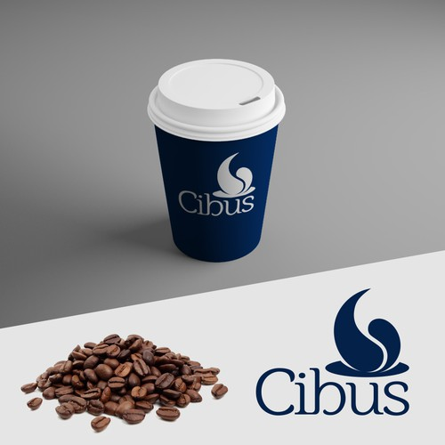 Logo for coffee store