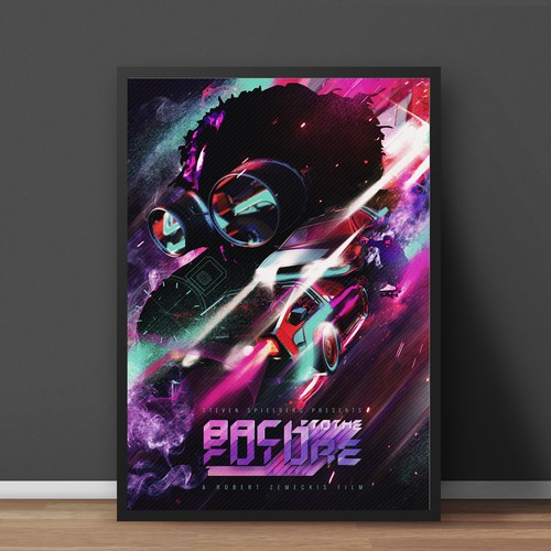 Back To The Future 80's Poster