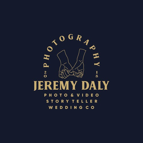 Line art logo concept for Jeremy daily