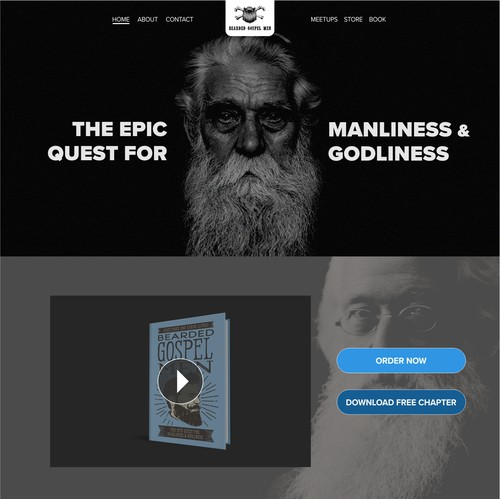 Home Page for BeardedGospelMen.com