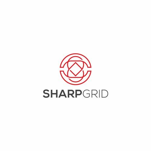 sharp grid logo