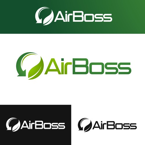 Create a great logo for Air Boss, an energy saving, climate improvement solution for large buildings