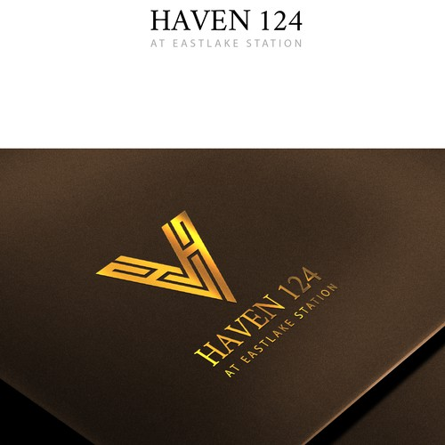 Creative logo concept for Haven 124