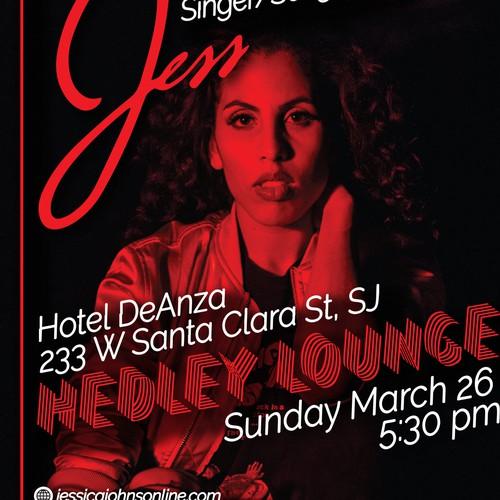 Concert poster for Jessica Johnson