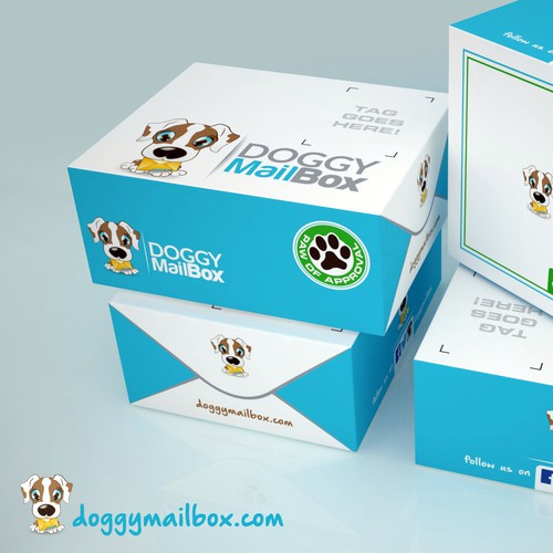 Packaging for Doggy MAILBOX