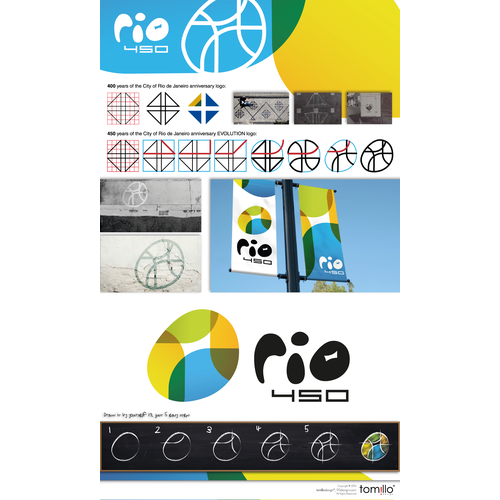Community Contest: create a new logo for the 450 anniversary of Rio de Janeiro