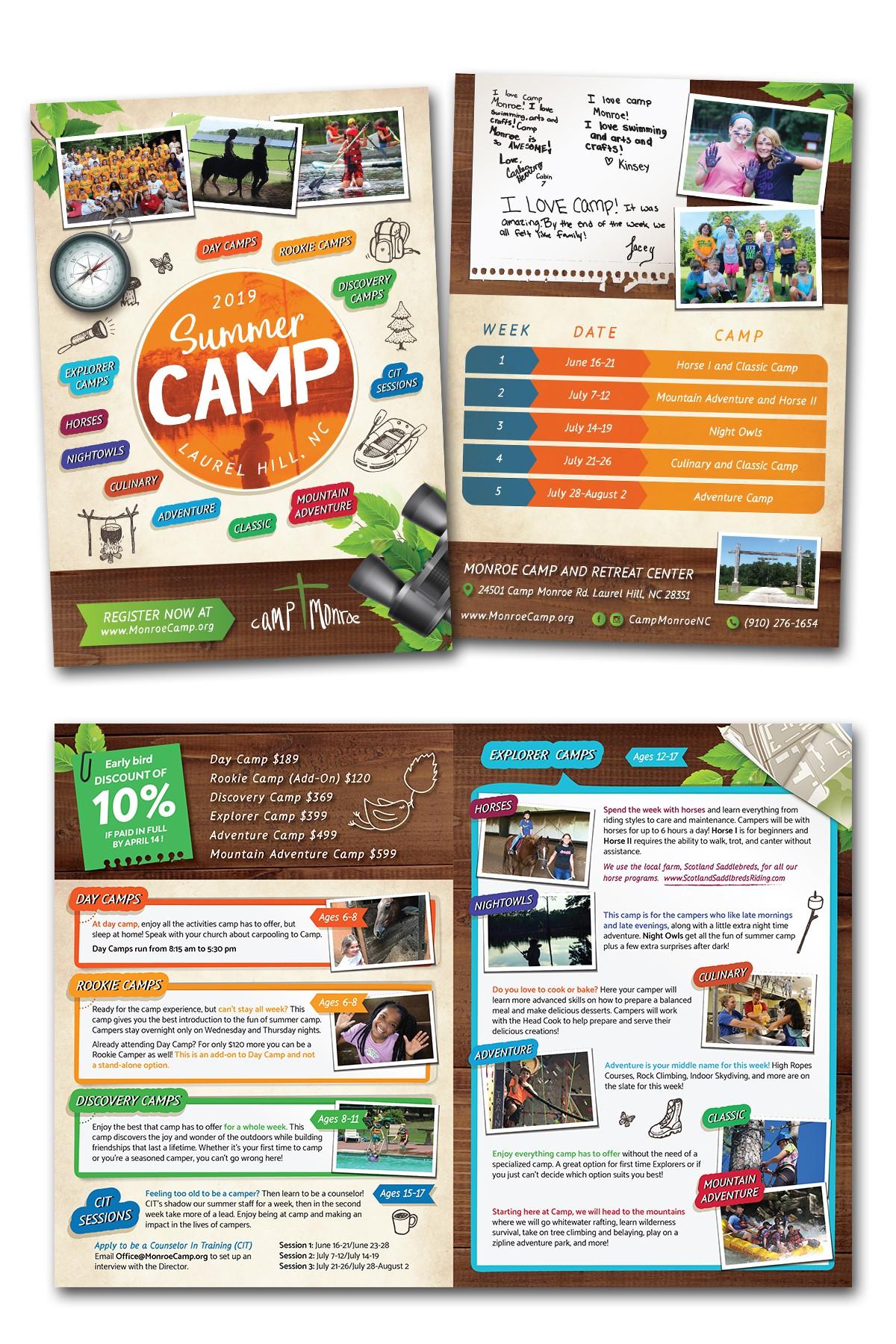 Camp Monroe brochure