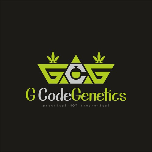 Logo concept for GCodeGenetics