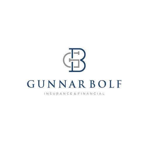 Modern Minimalist logo for Gunnar Bolf