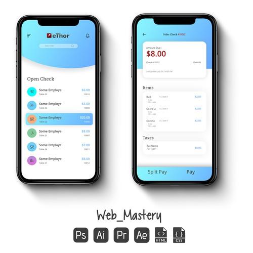 Credit Card App UI