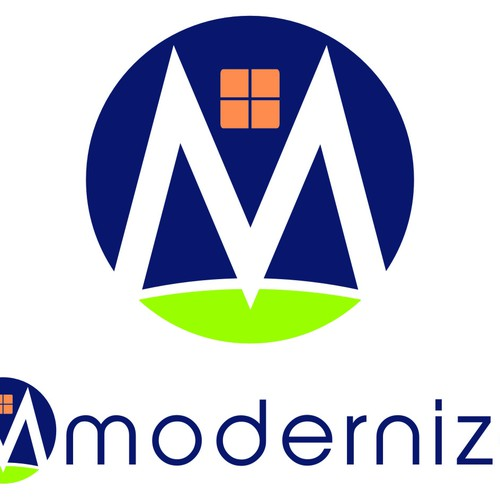 Create a compelling logo for Modernize