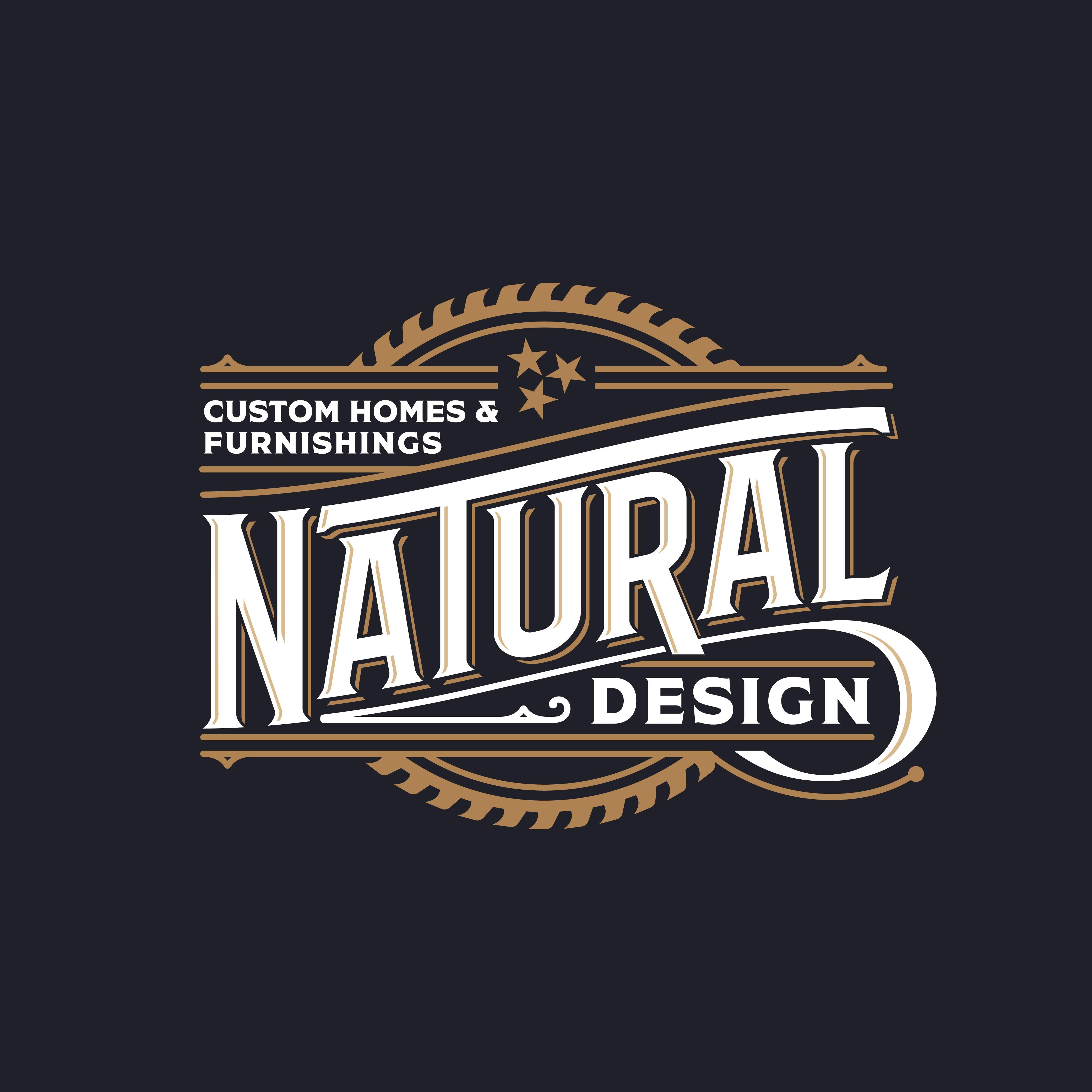 Re-create vintage logo for naturalDESIGN