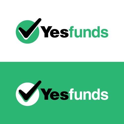 YesFunds logo design