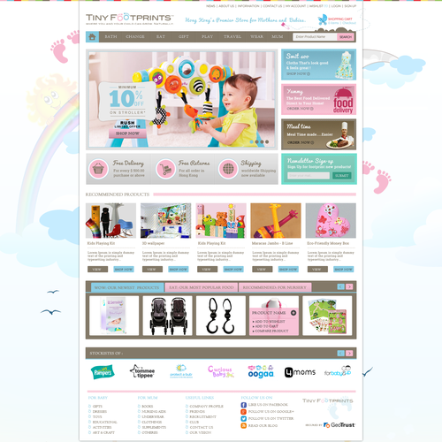 CREATE A BEAUTIFUL, FUN KIDS WEBSITE.