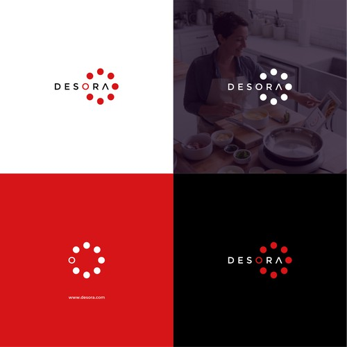 Design a high-tech logo for an IoT Cooking Startup