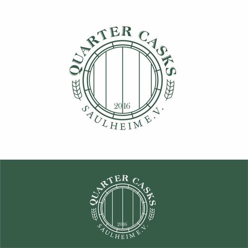 Quarter Casks Saulheim logo concept.